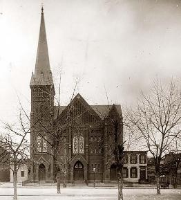 Vt Ave Baptist in 1899